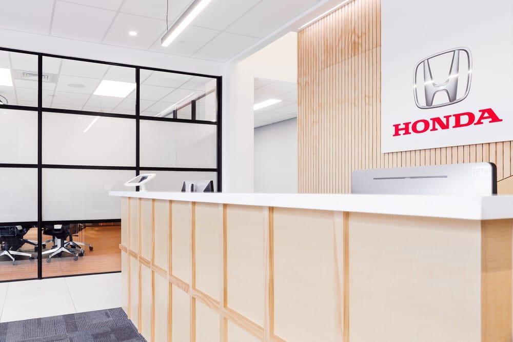 Honda New Zealand Reception - Respond Architects Refit