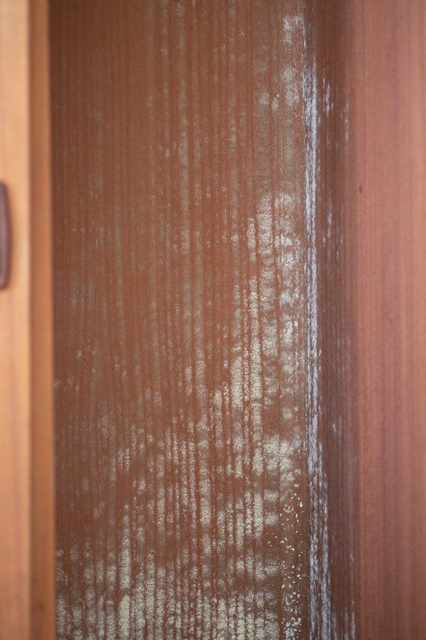 Mould in Cupboards can be dangerous to your health.