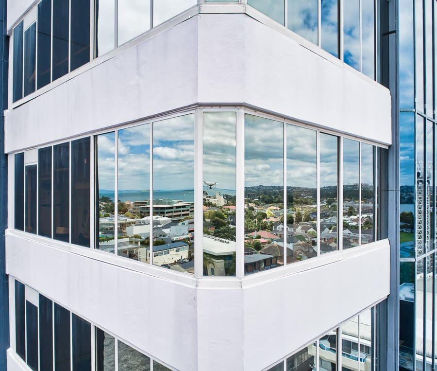 BDO Tower drone inspection