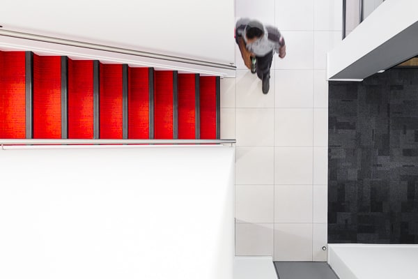 Honda Fit-out - Stairwell