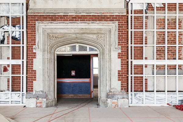 Heritage and Conservation Sector - Takapuna Grammar - Historic Arch