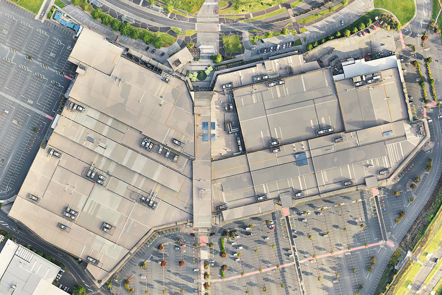Westfield Albany Aerial Composite